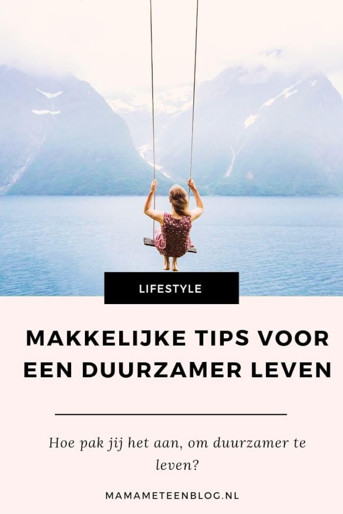 tips duurzaam leven mamameteenblog.nl
