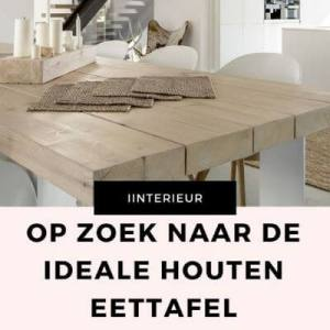 ideale houten eettafel mamameteenblog.nl