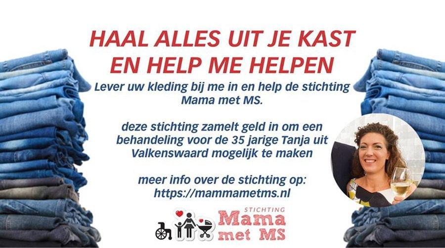 Wezelstraat kledinginzameling