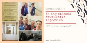 HSCT Blog - day minus 9