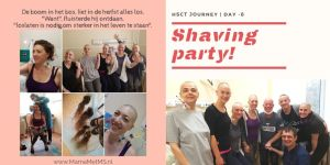 HSCT Blog - Shaving party