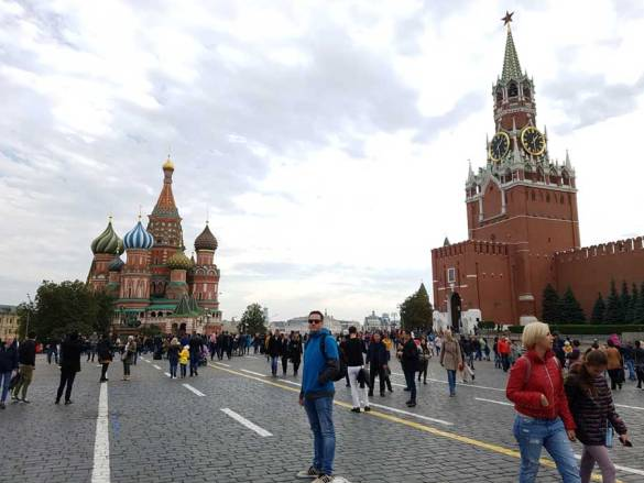Day off: Red Square Moscow