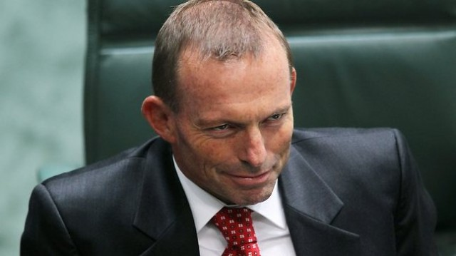 Tony Abbott's first 100 days of government