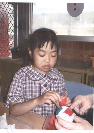 Eight-year-old Wendy Nguyen.