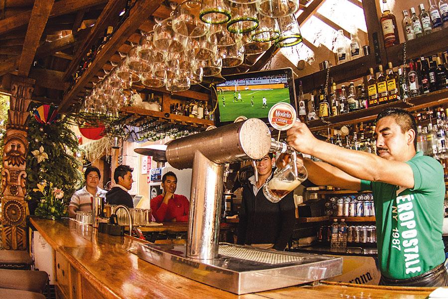 Bar de MAMA MIA San Miguel