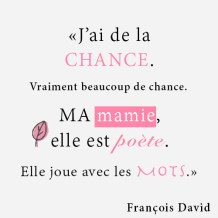 Un extrait du livre 'Ma Mamie en Poévie'