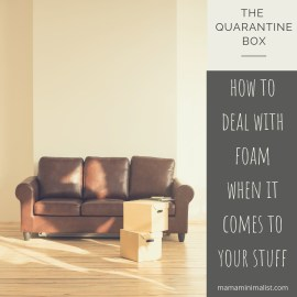 The foolproof, incremental strategy when decluttering and minimizing.