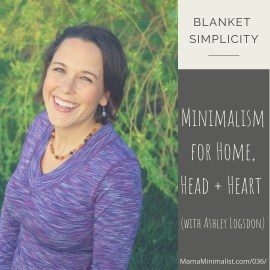 Action-oriented strategies to incorporate minimalism strategies into your home, your heat and your heart.