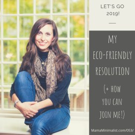 Eco-friendly New Years resolution ideas for eco-minimalists