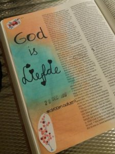 happy moments bible journaling