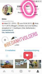 dagboek volgers instagram
