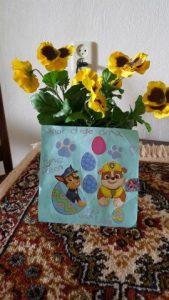 dagboek kaart voor oude oma