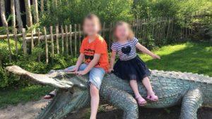 Nederland Zingt Luca en Nola op de krokodil
