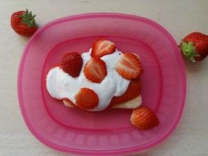 Favoriete ontbijtje weekend ontbijt