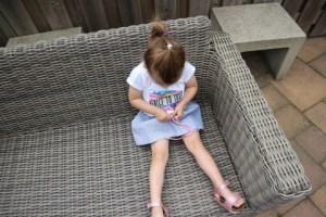 Vingino kleding voor de kinderen Nola jurkje bank