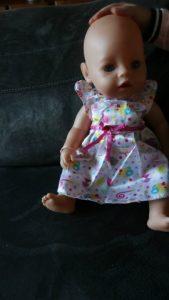 Nieuwe baby born soft touch en party set met accesoires review. pop met kleertjes