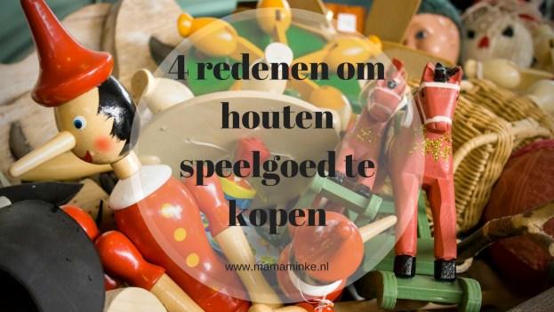 Houten speelgoed is leuk voor je kind en stimuleert fantasie spel. In deze blog 4 redenen waarom je houten speelgoed wilt kopen. uitgelichte afbeelding