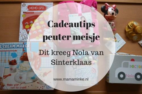 Nola kreeg veel cadeautjes met Sinterklaas. Veel leuke cadeautips voor een 3 jarig meisje. uitgelichte afbeelding