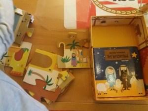 kleine verhalendoos kerst