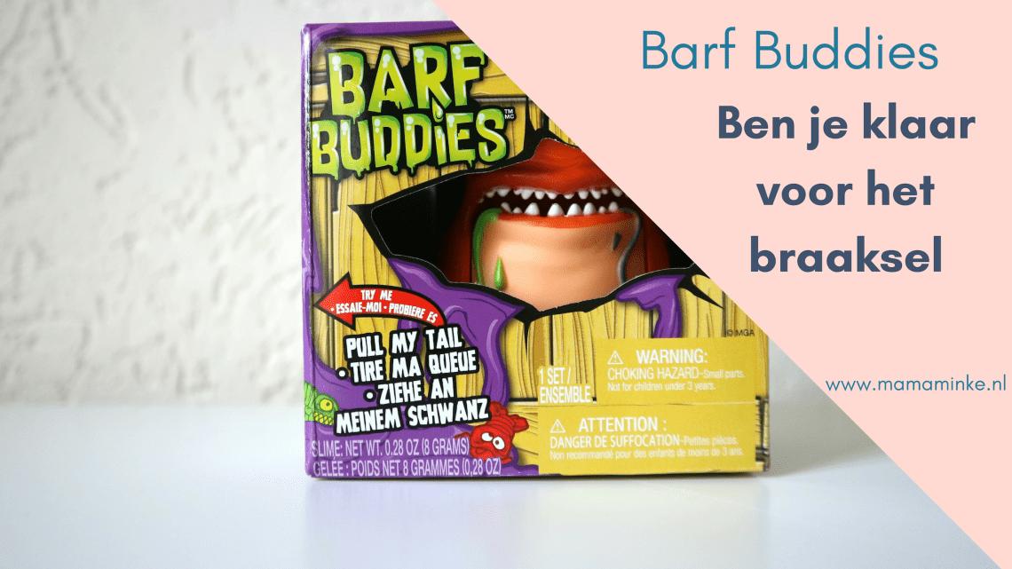 Barf Buddies, het speelgoed van nu. Verzamelbaar met slijm om te spelen. Inclusief bakje om slijm te bewaren. Spaar jij ze al? uitgelichte afbeelding