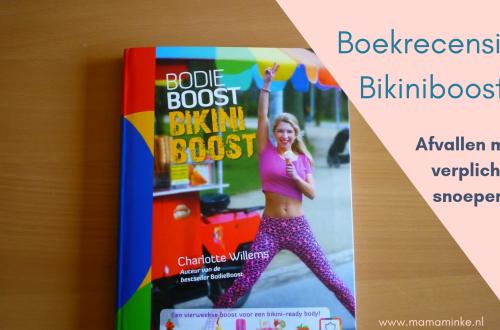Bikiniboost, boek van bodieboost om slanker de zomer in te gaan.
