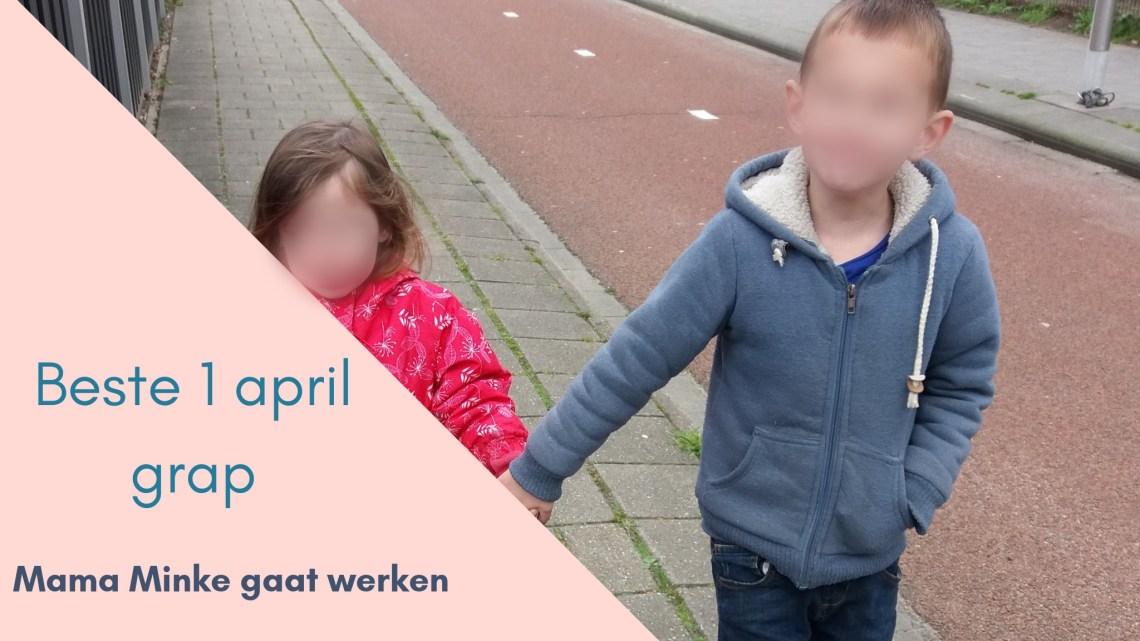Beste 1 april grap 2019, thuis zijn bij de kinderen of werken; uitgelichte afbeelding