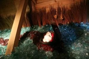 Baby mozes is ook in de Ark te zien