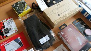Dit is een close up van de spullen voor gebruik icm je telefoon