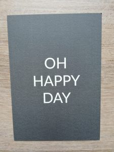 Kaart stralend-online oh happy day