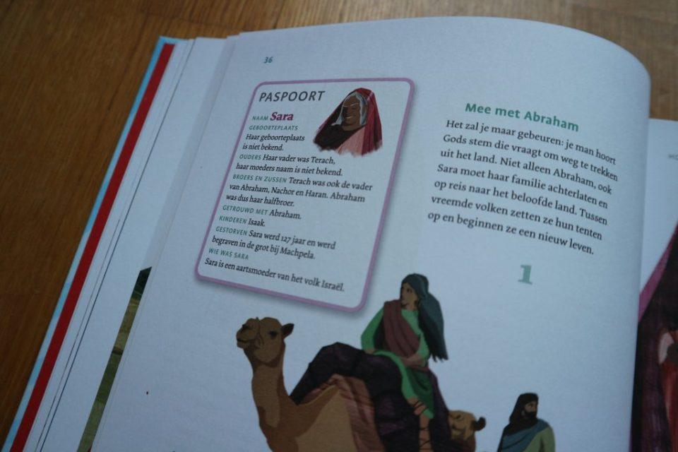 Beleef de Bijbel paspoort Sara