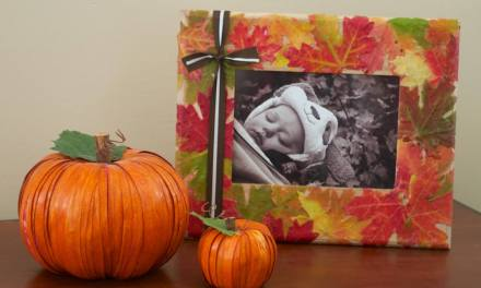 Fall Leaf Frame