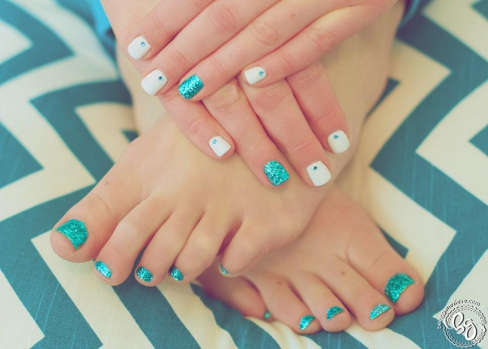 Glitter Toes