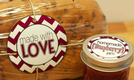 Matching Bread & Jam Tags