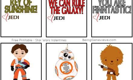 New Star Wars Valentines