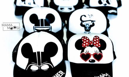 Disney Iron-On Vinyl Hats