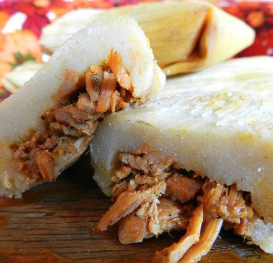 achiote tamales