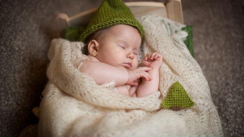 Hur man sätter ett barn i 2 år som sover hemma