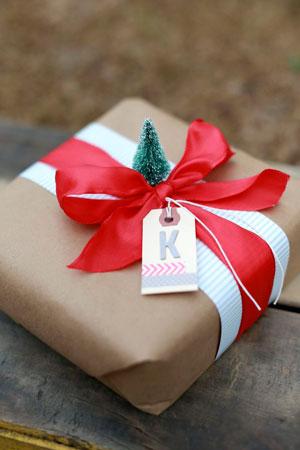 Smuk gaveemballage med dine egne hænder til det nye år 7