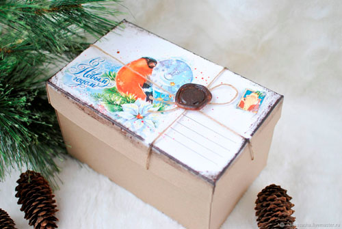Hvor smuk og oprindeligt pakker en gave til det nye år