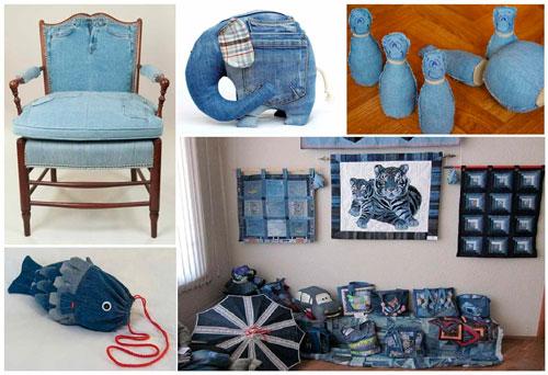 古いものからの作り方ソファ枕2