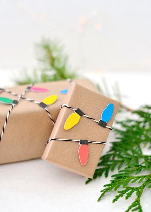 Smukt pakk gaver til det nye år 12