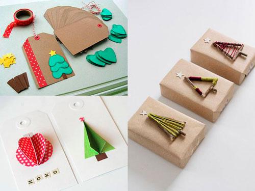 Smukt pakk gaver til det nye år 10