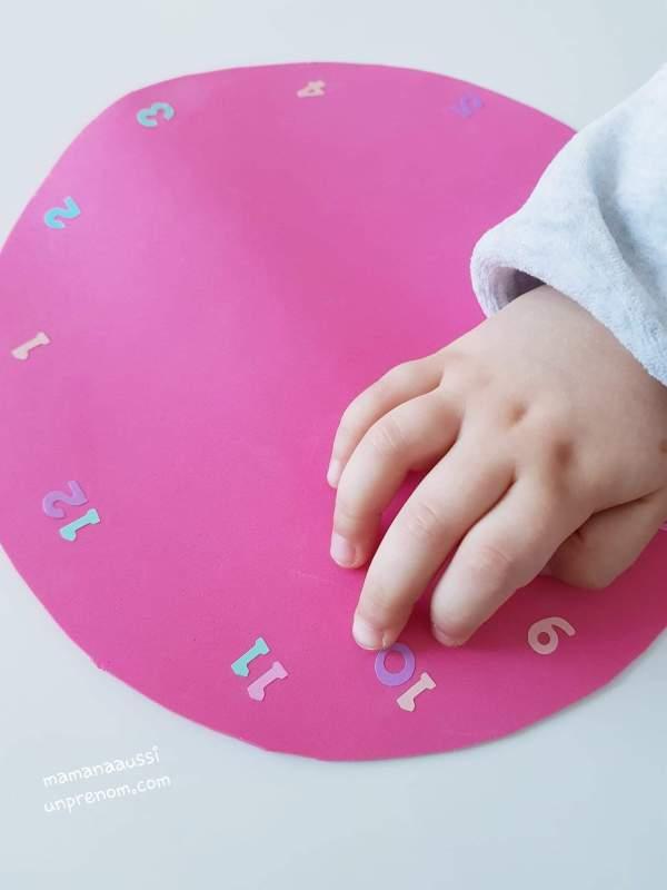 DIY KIDS - Fabrication d'une horloge
