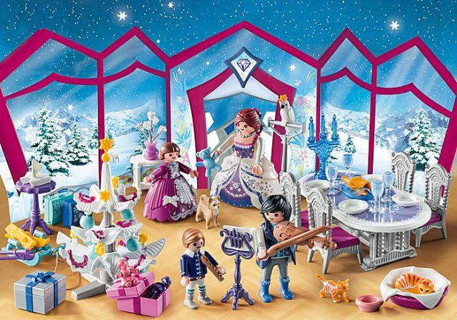 Calendrier de l'Avent 'Bal de Noël au salon de Cristal'