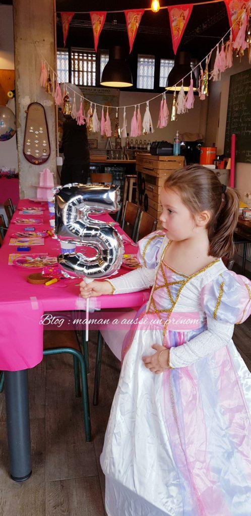"""Maman a aussi un prénom - Anniversaire """"Princes et Princesses"""""""