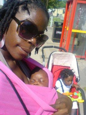 baby wearing my third