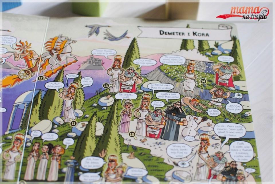 mitologia dla dzieci, książka całokartonowa