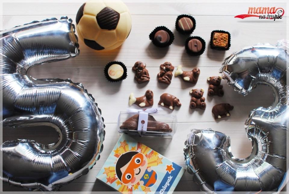 chocolissimo czekoladki, prezent na dzień dziecka, prezent na urodziny