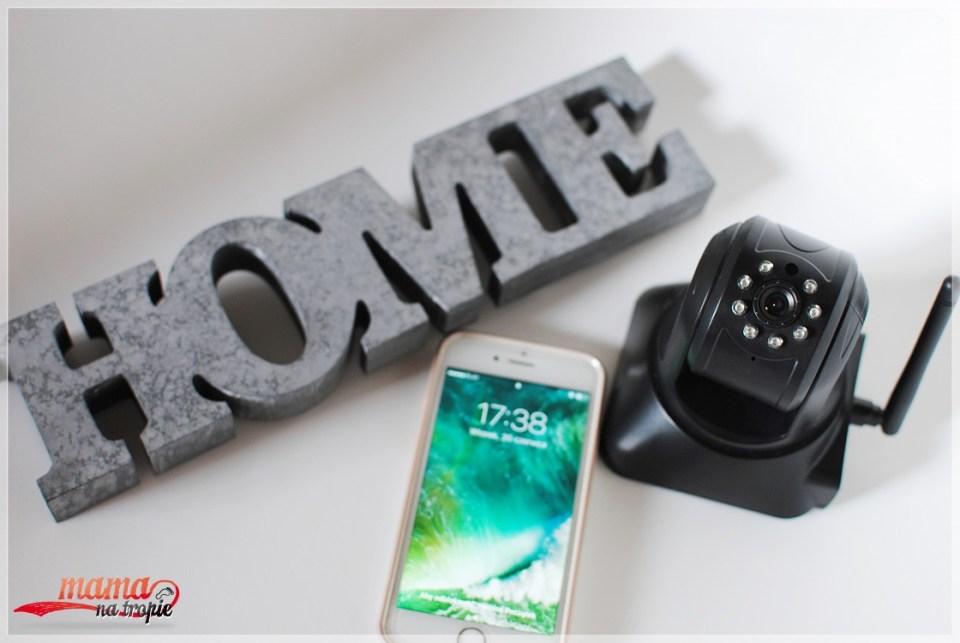 bezpieczny dom, kamerka, bezpieczna rodzina