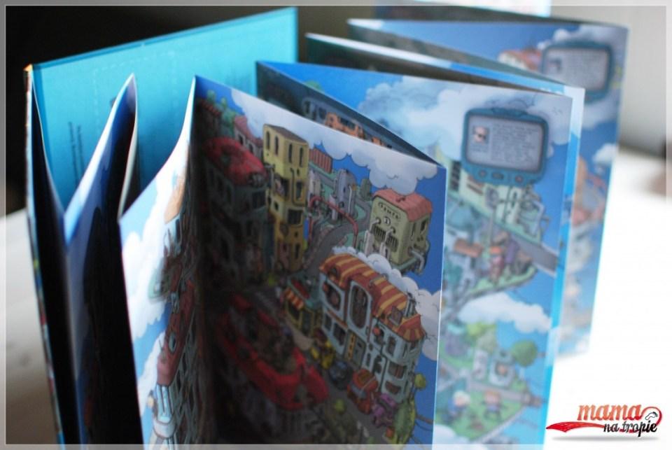 nasza księgarnia, książka mapa, miasta